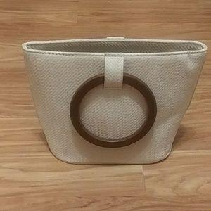 Stylish cream purse